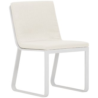 Ibiza White Side Chair