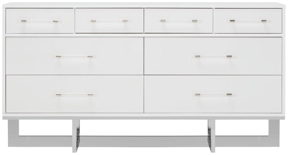 Cortina White Wood Dresser
