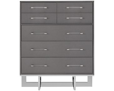 Cortina Gray Large Drawer Chest