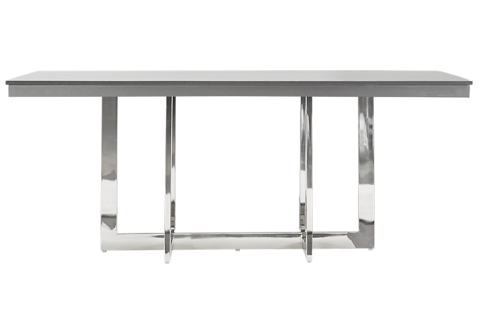 Pleasing Cortina Gray Rectangular Table Dining Room Tables City Caraccident5 Cool Chair Designs And Ideas Caraccident5Info