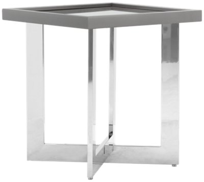Beau Cortina Gray End Table Cortina Gray End Table