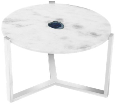 Agate Marble Accent Table. VIEW LARGER