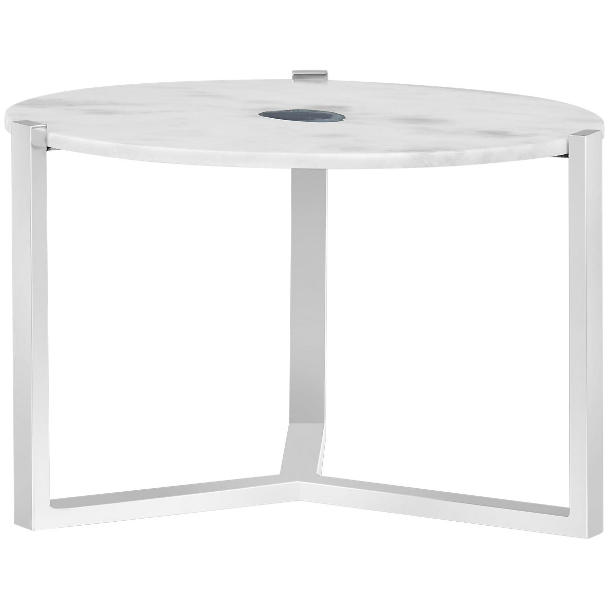 Agate Marble Accent Table