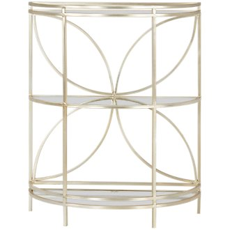 Teagan Gold Metal Console Table