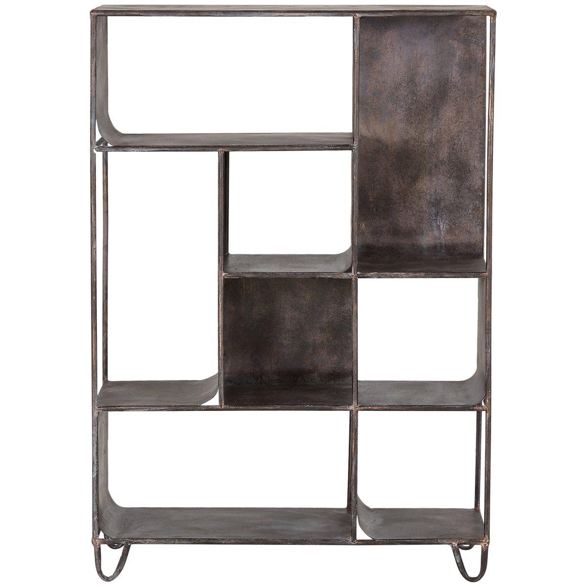 Maddox Black Bookcase
