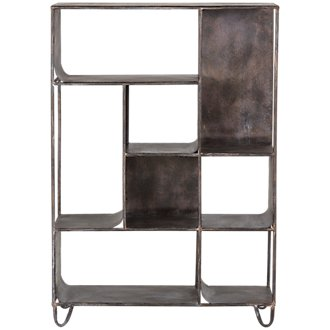 Maddox Black Bookcase