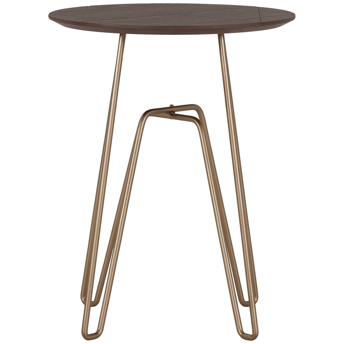 Anaya Brown Accent Table