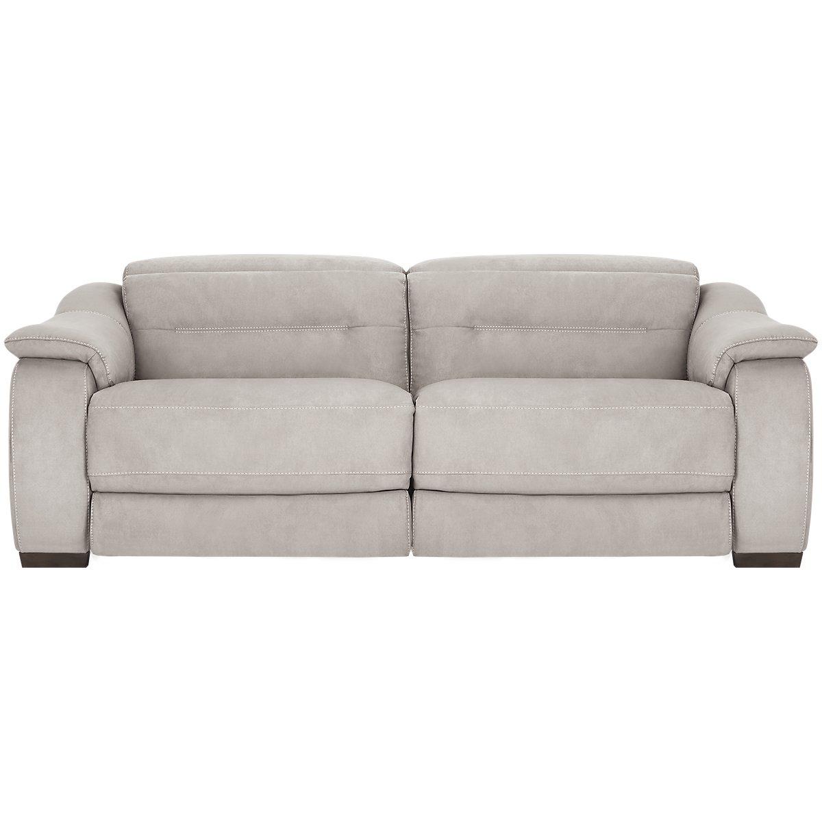 Grey Microfiber Sofa Sensations Gray Microfiber Sofa