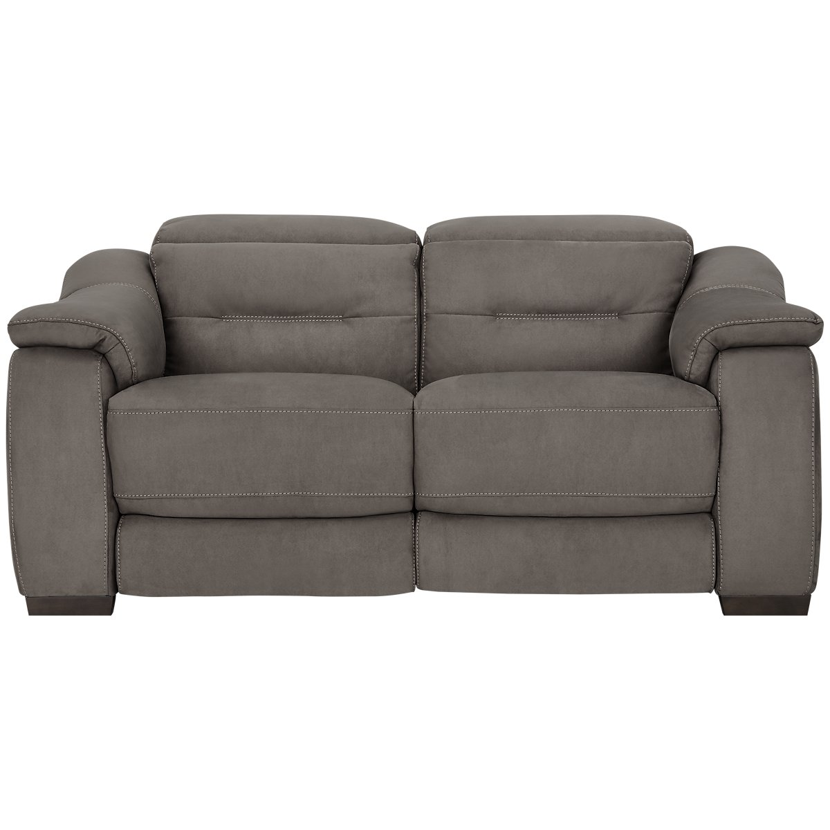 City Furniture Kent Dark Gray Microfiber Power Reclining