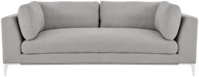 Ordinaire Madison Gray Fabric Sofa