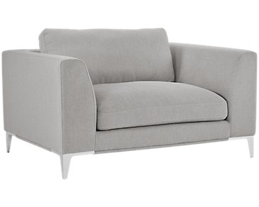 Madison Gray Fabric Chair
