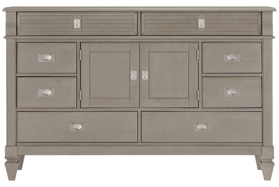 Marina Gray  Dresser