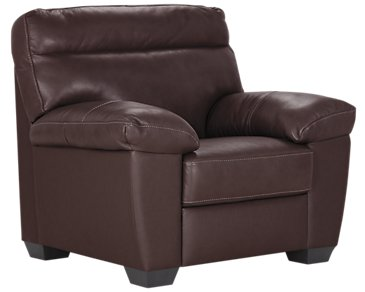 Devon Dark Brown Leather Chair