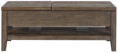 Bravo Dark Tone Rectangular Lift Coffee Table