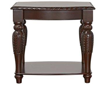 Antoinette Dark Tone End Table