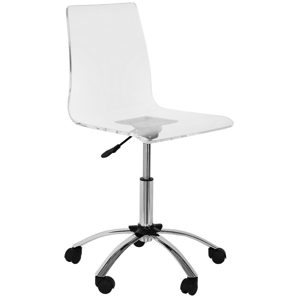 Chloe Acrylic Acrylic Desk Chair
