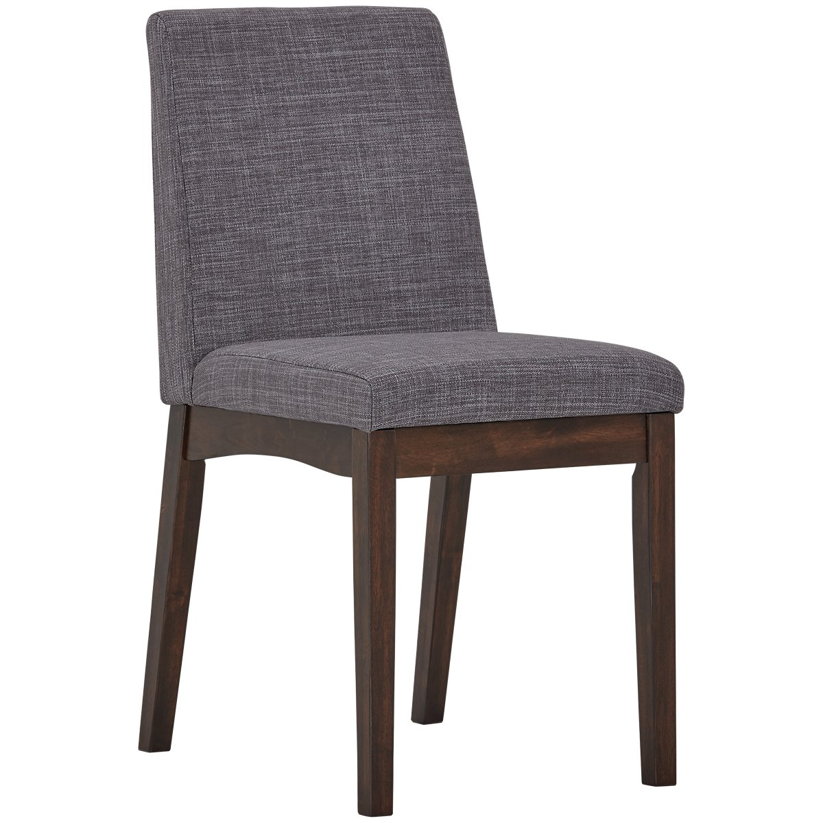 Hayden Dark Gray Upholstered Side Chair
