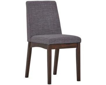 Hayden Dark Gray Upholstered Side Chair