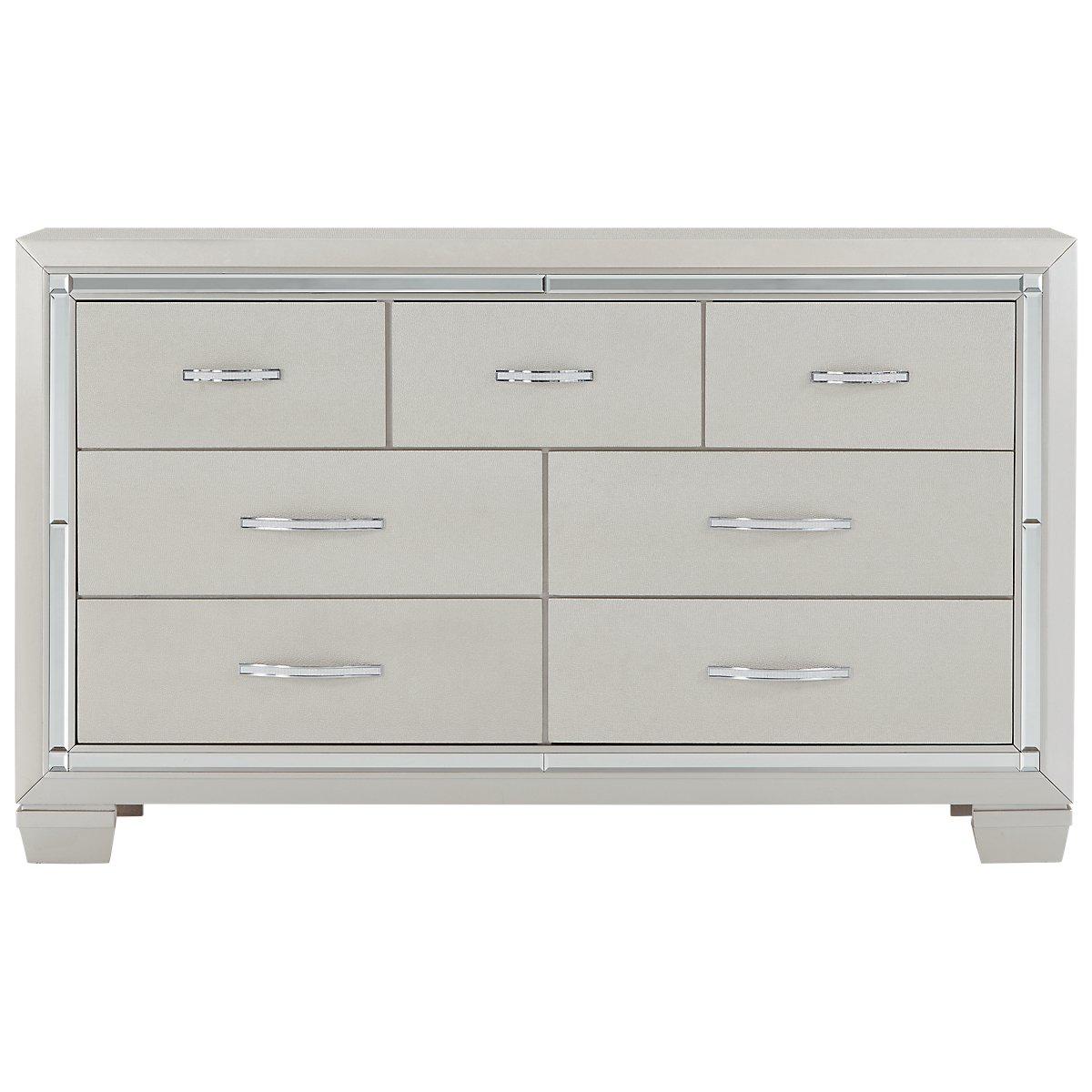 Silver Dresser: Platinum Silver Dresser
