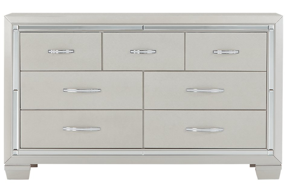 Platinum Silver  Dresser