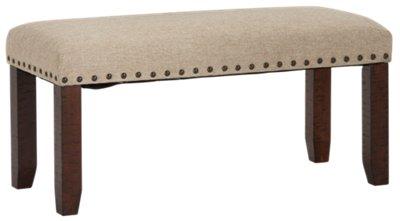 Jax Dark Tone Rectangular Table 4 Chairs