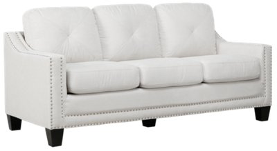 Malone Beige Microfiber Small Sofa. VIEW LARGER