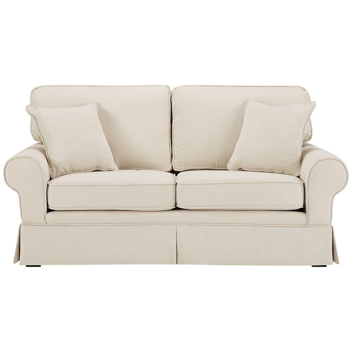 City Furniture: Reese White Small Sofa