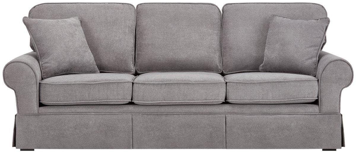 Reese Dark Gray Fabric Sofa