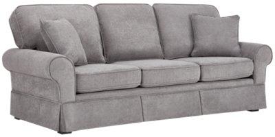 Reese Dark Gray Fabric Sofa. VIEW LARGER