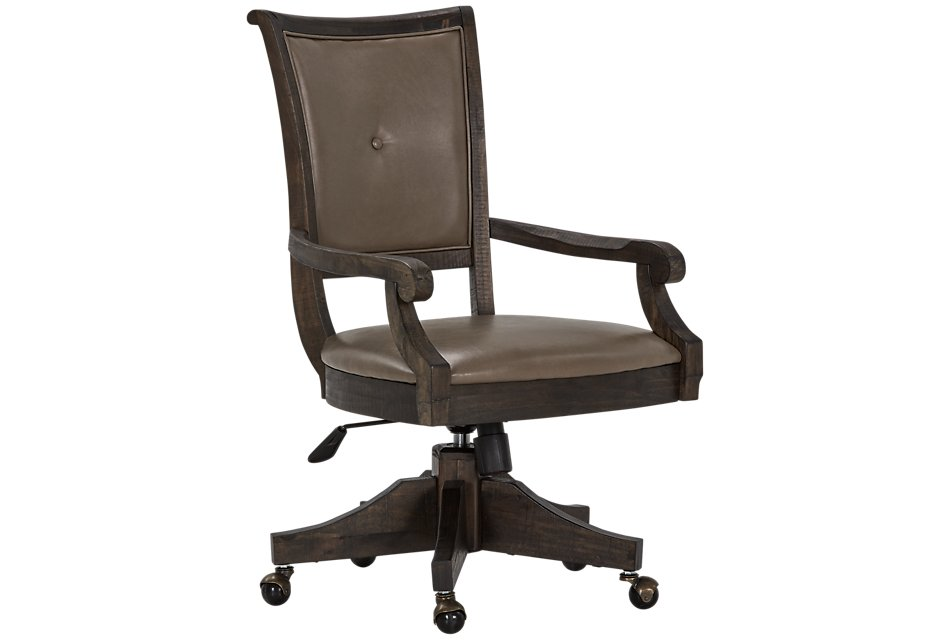 Sonoma Dark Tone Swivel Desk Chair