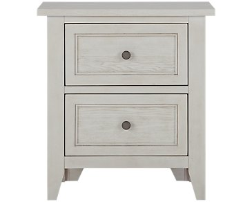 Dawson Ivory Drawer Nightstand