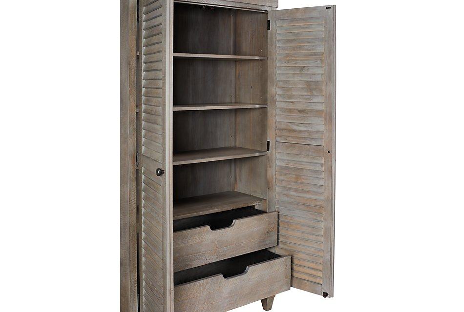 Sonoma Light Tone  Storage Cabinet