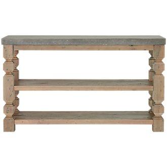 Obrian Wood Sofa Table