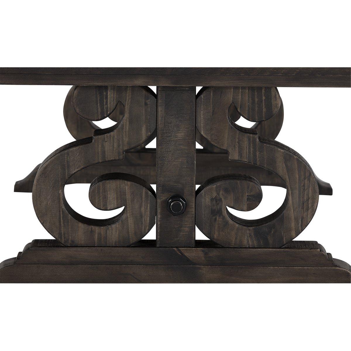 Sonoma Dark Tone Wood Storage Coffee Table