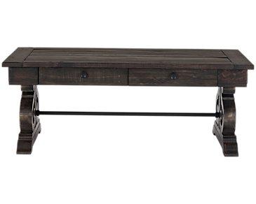 Sonoma Dark Tone Storage Coffee Table