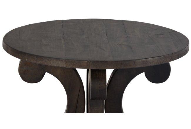 Sonoma Dark Tone Wood Accent Table