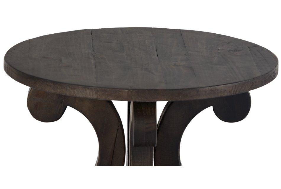 Sonoma Dark Tone Round Accent Table
