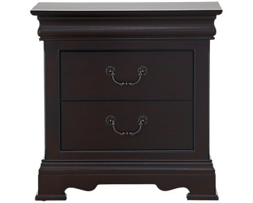 Bordeaux Dark Tone Nightstand