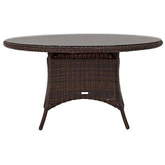 Cape Dark Brown Round Table