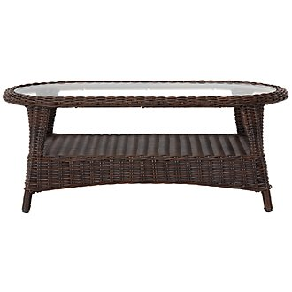 Cape Dark Brown Coffee Table