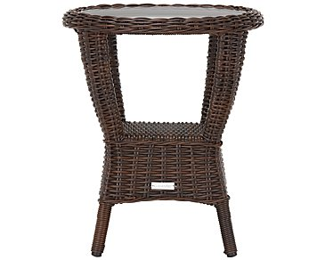 Cape Dark Brown End Table