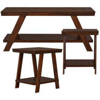 Bradley Mid Tone 3 Pack Tables