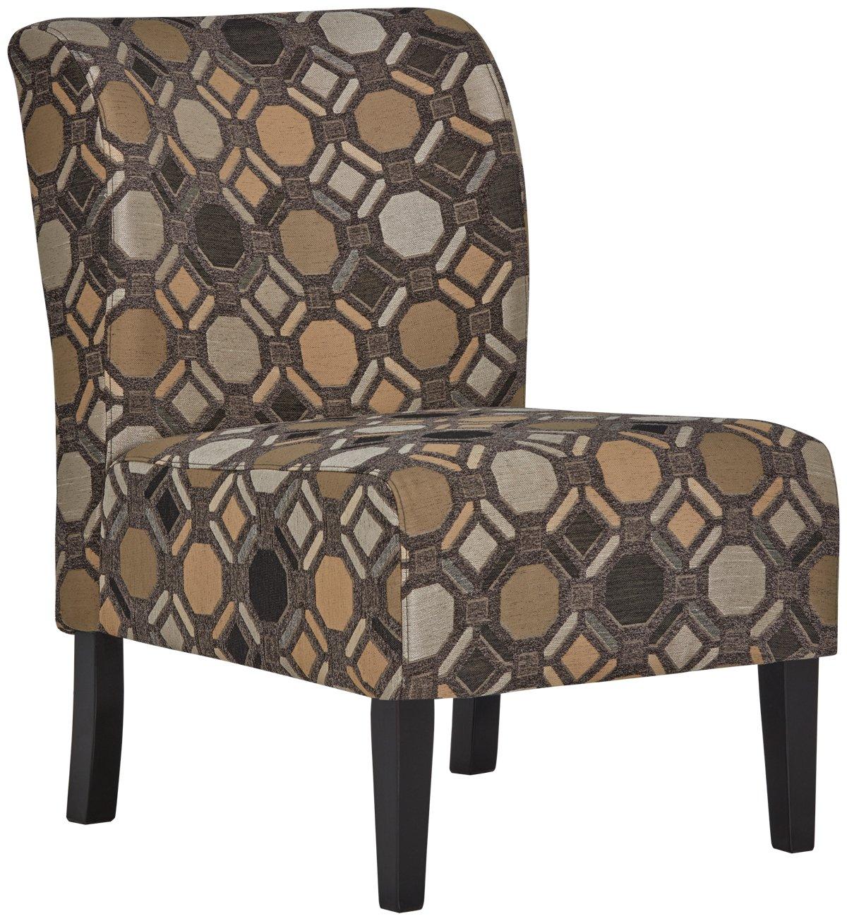 Laryn Multicolored Microfiber Accent Chair