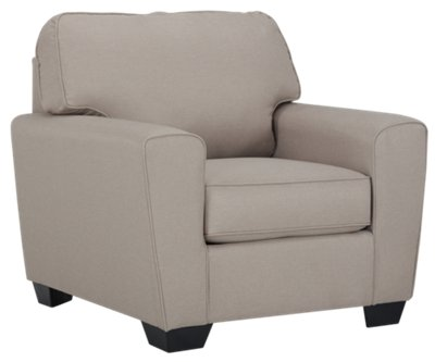 Calicho Light Taupe Microfiber Chair