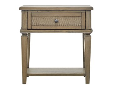 Tahiti Light Tone 1-Drawer Nightstand
