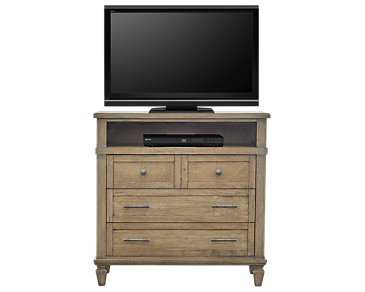 Tahiti Light Tone Media Chest