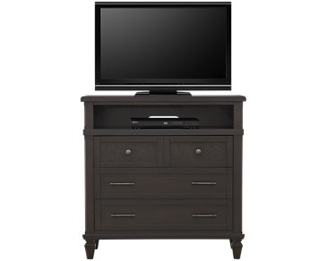 Tahiti Dark Tone Media Chest