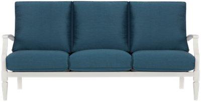 Charleston White Sofa
