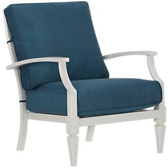 Charleston White Chair
