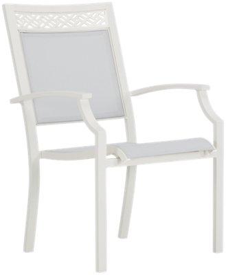Charleston White Sling Chair
